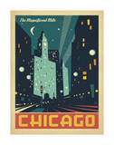 Chicago: The Magnificent Mile (Night Lights)