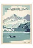 Parc national de Glacier Bay, Alaska Reproduction d'art par Anderson Design Group