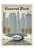 New York Central Park Reproduction d'art par Anderson Design Group