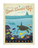 Great Barrier Reef, Australia Reproduction d'art par Anderson Design Group