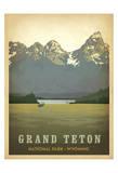 Grand Teton National Park, Wyoming Reproduction d'art par Anderson Design Group