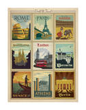 World Travel Multi Print I