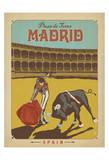 Madrid, Espagne Reproduction d'art par Anderson Design Group