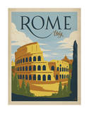 Rome, Italie Reproduction d'art par Anderson Design Group