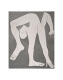 L'acrobate (The Acrobat) Reproduction d'art par Pablo Picasso