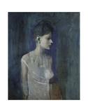 Girl in a Chemise, c. 1905 Reproduction d'art par Pablo Picasso