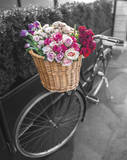 Basket of Flowers I