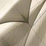Head Sails of a Schooner Giclée par Michael Kahn