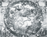 Haemisphaeri Graphicum Coelitietum Sceno Australae Stella Terrae  1660
