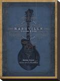 Nashville  Tennessee (Blue Mandolin)