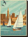 San Francisco  California (Sailboats)
