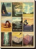 National Parks: The Art & Soul Of America Tableau sur toile par Anderson Design Group