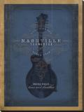 Nashville  Tennessee (Blue Mandolin)