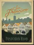 San Francisco  California: Postcard Row