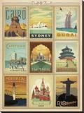 World Travel Multi Print II