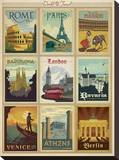 World Travel Multi Print I