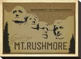 Mt Rushmore: Monument To Democracy