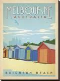 Melbourne  Australia: Brighton Beach