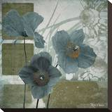 Cerulean Poppies I
