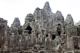 The Ancient Temple Complex At Angkor Thom