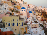The Village of Ia  Built Into the Cliffs and Hillsides of Santorini