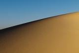 Sunrise Sheds Light On Sand Dunes Near Gebel Makhroon