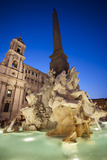 Church of Sant'Agnese in Agone and the Four Rivers Fountain
