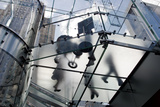 The Glass Apple Store On Fifth Avenue in New York City