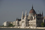 A View of Hungary's Parliament Building On the Danube River