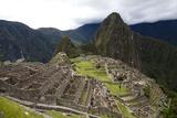 The Ruins At Machu Picchu