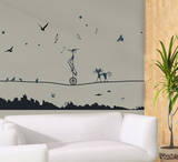 Tight Rope Wall Decal Sticker