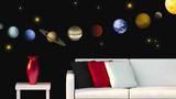 Planets Wall Decal Sticker