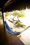 A Hammock Outside a Room At Medjumbe Island Resort in Mozambique