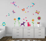 Origami Wall Decal Sticker