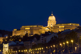 Night View of Buda Castle  Historic Home to Hungarian Kings