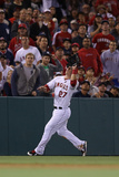 Anaheim  CA - June 14: Left fielder Mike Trout