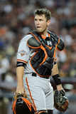 Phoenix  AZ - June 07: San Francisco Giants v Arizona Cardinals  Catcher Buster Posey