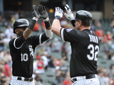 Chicago  IL - Junel 28: Adam Dunn and Alexei Ramirez