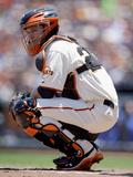 San Francisco  CA - June 05: San Francisco Giants v Toronto Blue Jays  Buster Posey