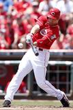 Cincinnati  OH - June 20: Cincinnati Reds v Pittsburgh Pirates  Joey Votto