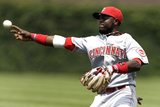 Chicago  WI - June 12: Brandon Phillips and get David DeJesus