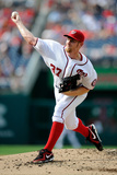 Washington  DC - June 27: Stephen Strasburg