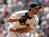 San Francisco  CA - May 22: Madison Bumgarner
