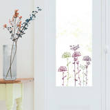 Lace Flowers Window Decal Stickers