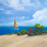 Sailboat on Coast I