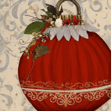 Red Ornament II