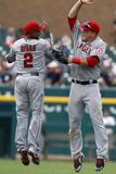 Detroit  MI - June 27: Erick Aybar and Mike Trout