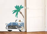 Cadillac & Palm Wall Decals