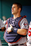 St Petersburg  FL - July 11: Catcher Joe Mauer
