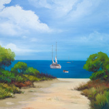 Sailboat on Coast II